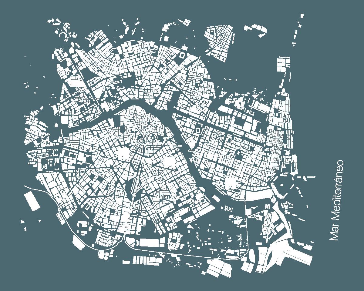 Plano Oficinas Casas del Mediterráneo